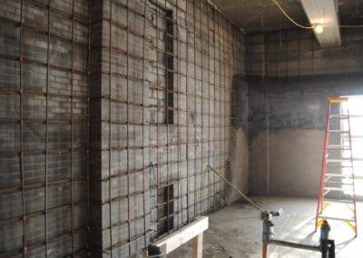 Shear wall installation-min