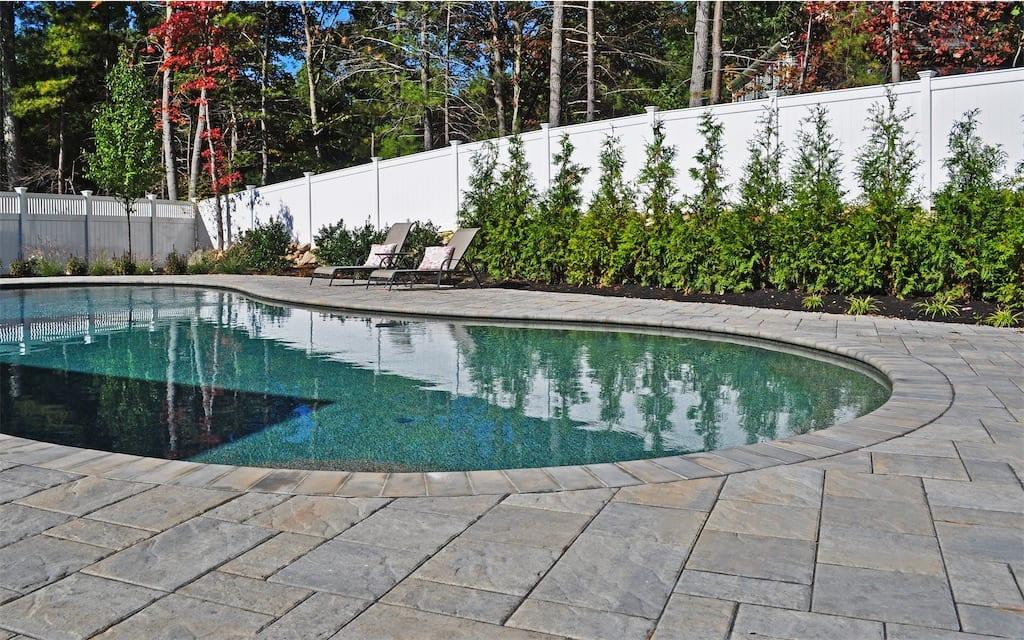 gunite pool builder in southern massachusetts