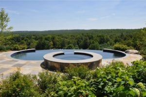 negative edge pools gunite