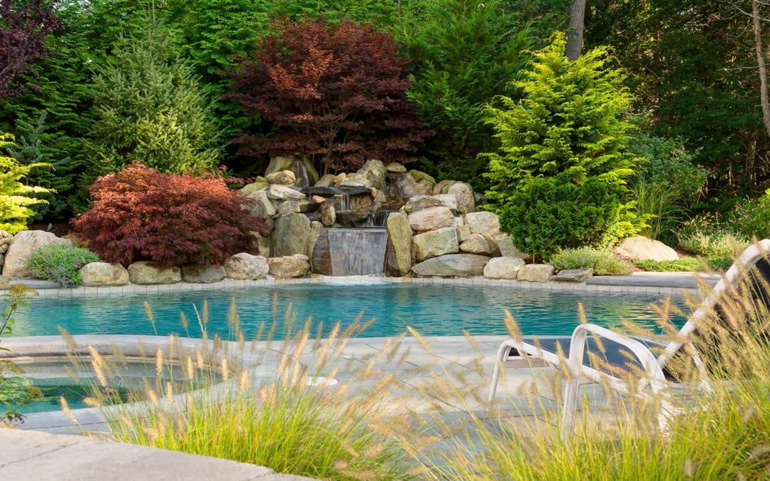landscape design pools